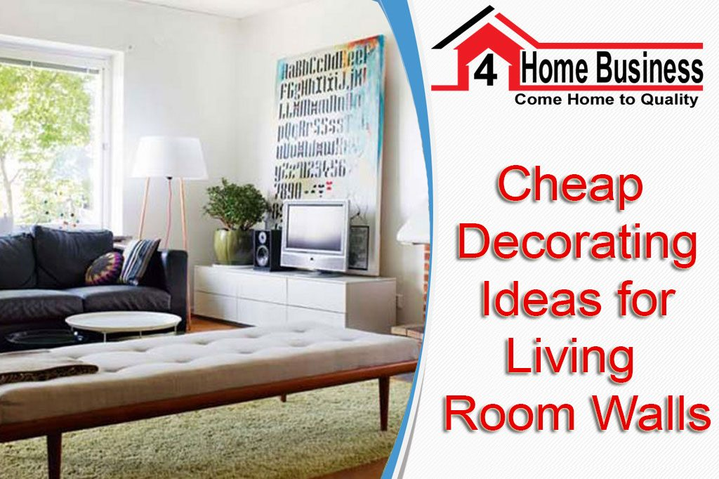 Cheap Decorating Ideas For Living Room Walls Extraordinary Living Room Walls