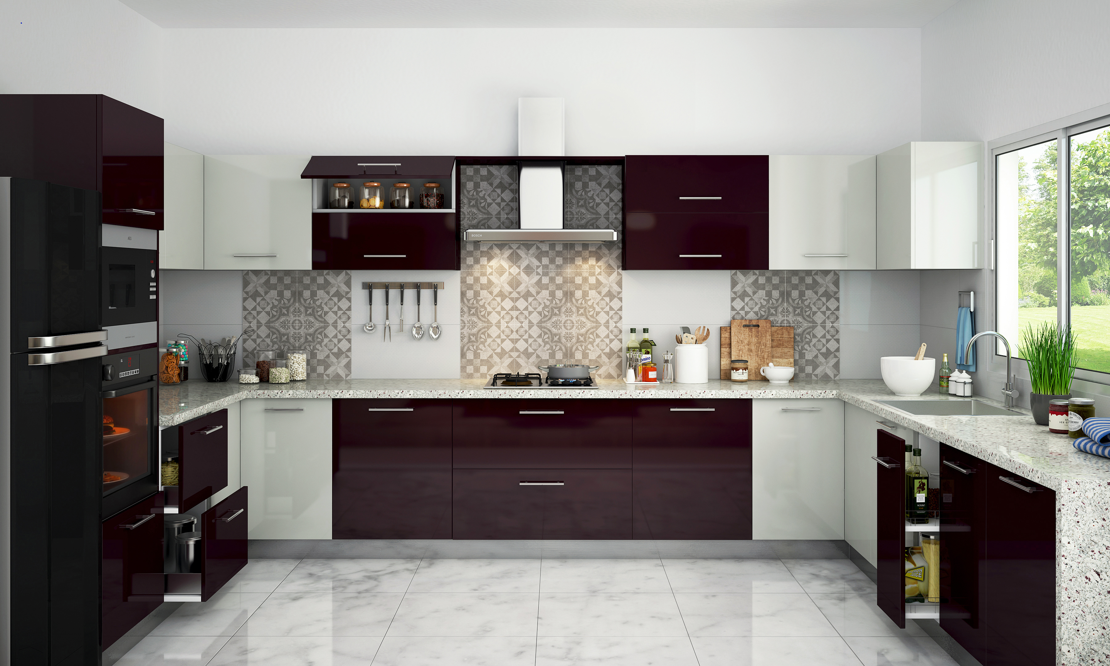 kitchen design color