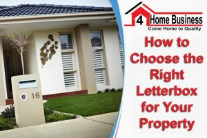 How to Choose the Right Letterbox for Your Property